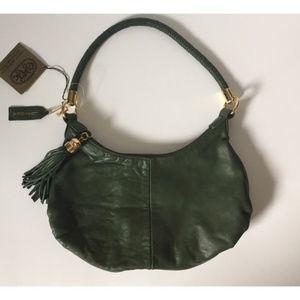 NWT Great American Leatherwork Green Bag